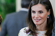 070819 Spanish Royals attend  audiences at Zarzuela Palace