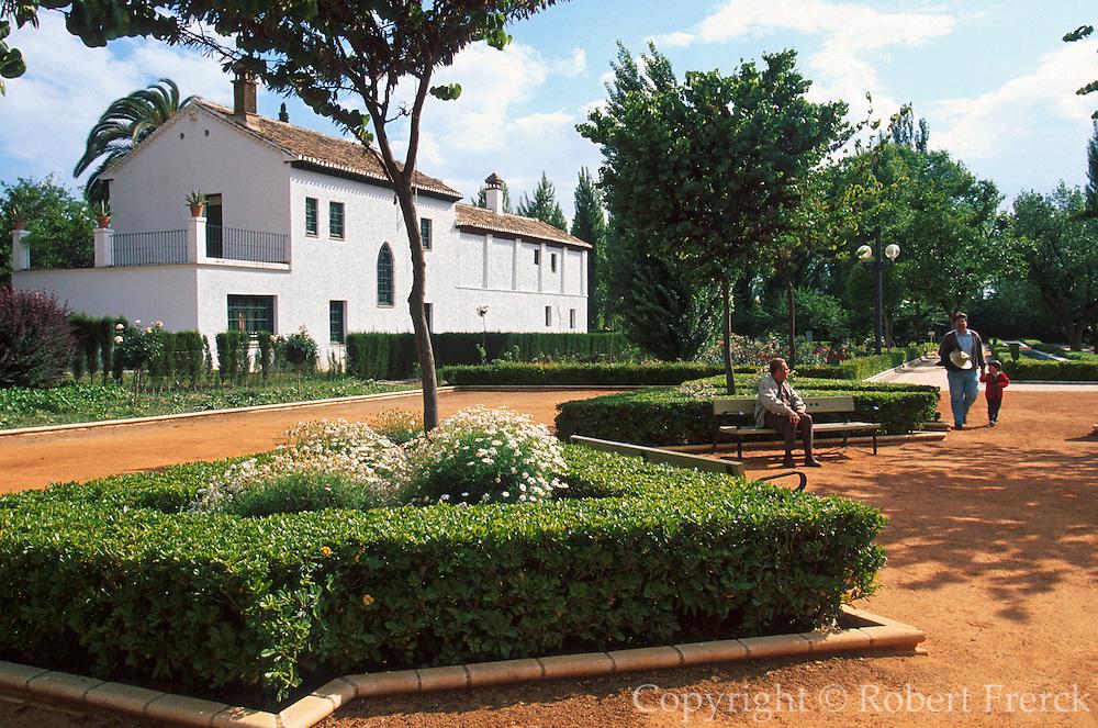 SPAIN, ANDALUSIA, GRANADA Lorca's home Huerta de San Vicente