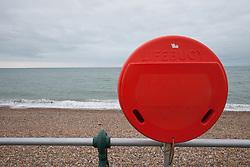 Lifebuoy on Brighton seafront