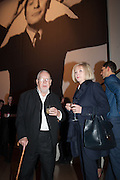 SIR PETER BLAKE AND LADY BLAKE, Opening of Bailey's Stardust - Exhibition - National Portrait Gallery London. 3 February 2014