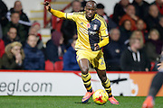 Sone Aluko during the EFL Sky Bet Championship match between Brentford and Fulham at Griffin Park, London, England on 4 November 2016. Photo by Jarrod Moore.