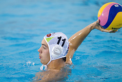 Nenad Crneka of Slovenia at waterpolo match between National men teams of Slovenia and Bulgaria in Qualifications for European Championships in Eindhoven 2012 on October 30, 2010 in Zusterna pool, Koper Slovenia. Slovenia defeated Bulgaria 31 - 5. (Photo By Vid Ponikvar / Sportida.com)