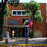 VENEZUELAN POLITICS / POLITICA EN VENEZUELA<br /> ulmination of a march by the opposition / Culminacion de una marcha de la oposicion<br /> Caracas - Venezuela 2009<br /> (Copyright © Aaron Sosa)
