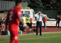 England manager, Roy Hodgson  - Mandatory byline: Joe Meredith/JMP - 07966386802 - 05/09/2015 - FOOTBALL- INTERNATIONAL - San Marino Stadium - Serravalle - San Marino v England - UEFA EURO Qualifers Group Stage