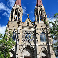 Cathedral of Saint Helena in Helena, Montana<br />