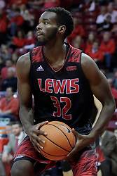05 November 2017:  Donovan Oliver during a Lewis College Flyers and Illinois State Redbirds in Redbird Arena, Normal IL