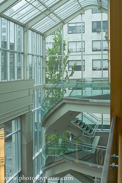 Interior Wosk Center, downtown, Vancouver, BC