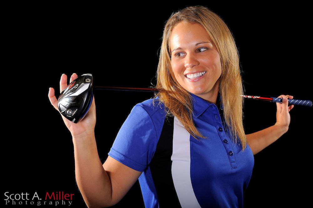 Whitney Wade during a portrait shoot prior to the LPGA Futures Tour's Daytona Beach Invitational at LPGA International's Championship Courser on March 29, 2011 in Daytona Beach, Florida... ©2011 Scott A. Miller