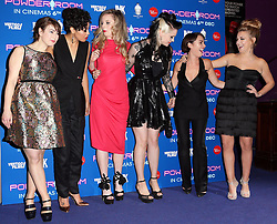 Actresse's from the  film Powder Room arriving at the premiere  in London, Wednesday, 27th November 2013. Picture by Stephen Lock / i-Images