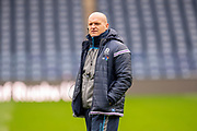 Scotland head coach Gregor Townsend during the Captain's training run for Scotland at BT Murrayfield, Edinburgh, Scotland on 8 March 2019 ahead of the Guinness 6 Nations match against Wales.