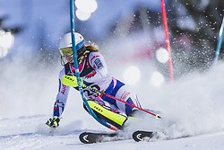 08.02.2019, Aare, SWE, FIS Weltmeisterschaften Ski Alpin, alpine Kombination, Slalom, Damen, im Bild Anne-Sophie Barthet (FRA) // Anne-Sophie Barthet of France during the Slalom competition of the ladie's alpine combination for the FIS Ski World Championships 2019. Aare, Sweden on 2019/02/08. EXPA Pictures © 2019, PhotoCredit: EXPA/ Johann Groder