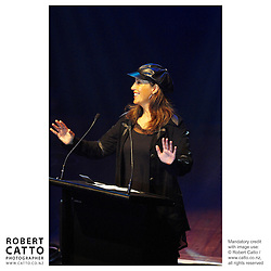 Moana Maniapoto at the APRA Silver Scroll Awards 2004 at the Wellington Town Hall, Wellington, New Zealand.<br />