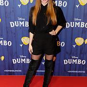 NLD/Amsterdams/20190326 - Filmpremiere Dumbo, Emilie van Tongeren