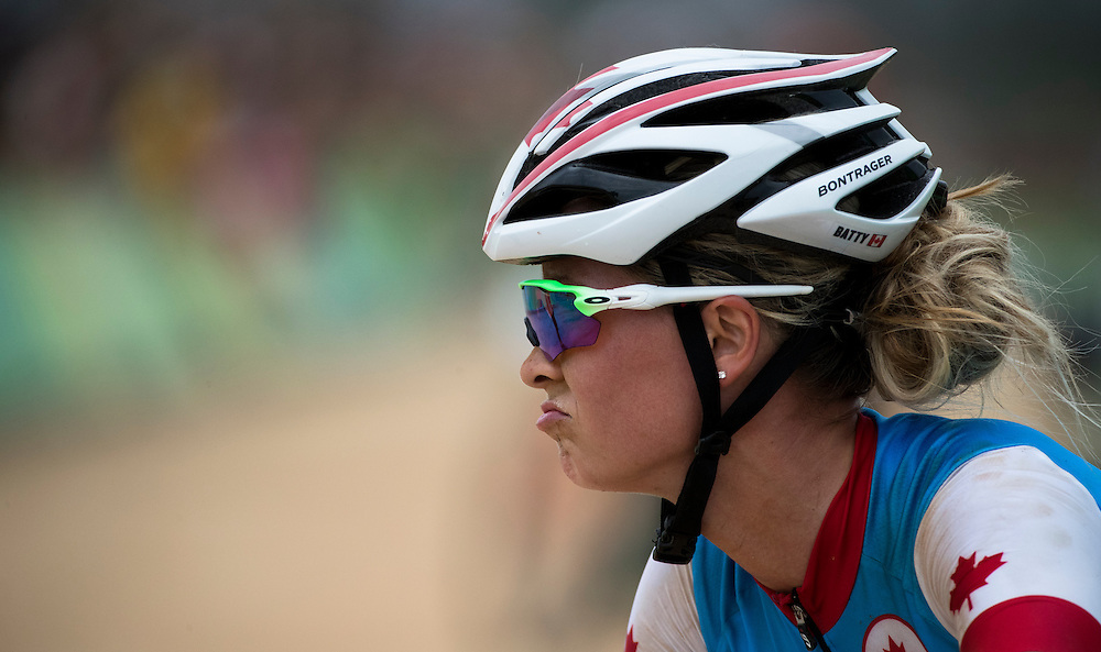 Emily Batty places in fourth place at the Rio Olympics on August 20, 2016.
