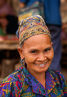 An ethnic minority woman in Laos, 1993