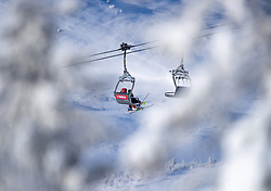 04.02.2019, Are, SWE, FIS Weltmeisterschaften Ski Alpin, Damen, Abfahrt, 1. Training, im Bild Sessellift // chairlift during 1st Ladies Dwonhill Training of the FIS Ski Alpine World Championships 2019 in Are, Sweden on 2019/02/04. EXPA Pictures © 2019, PhotoCredit: EXPA/ Johann Groder