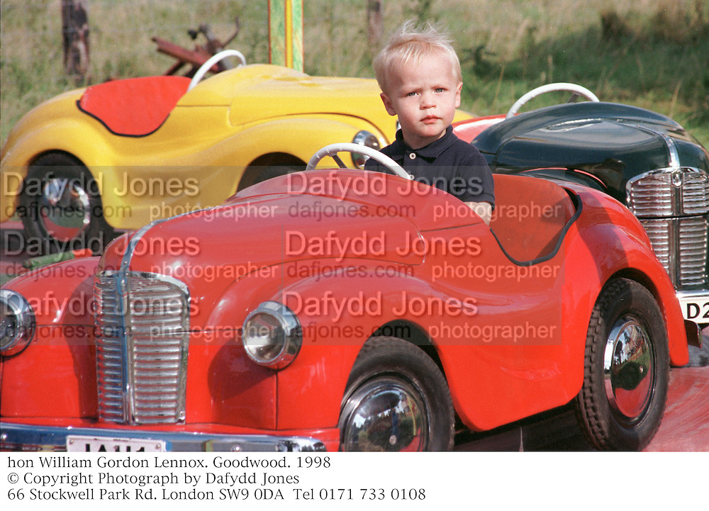 hon William Gordon Lennox. Goodwood. 1998<br />