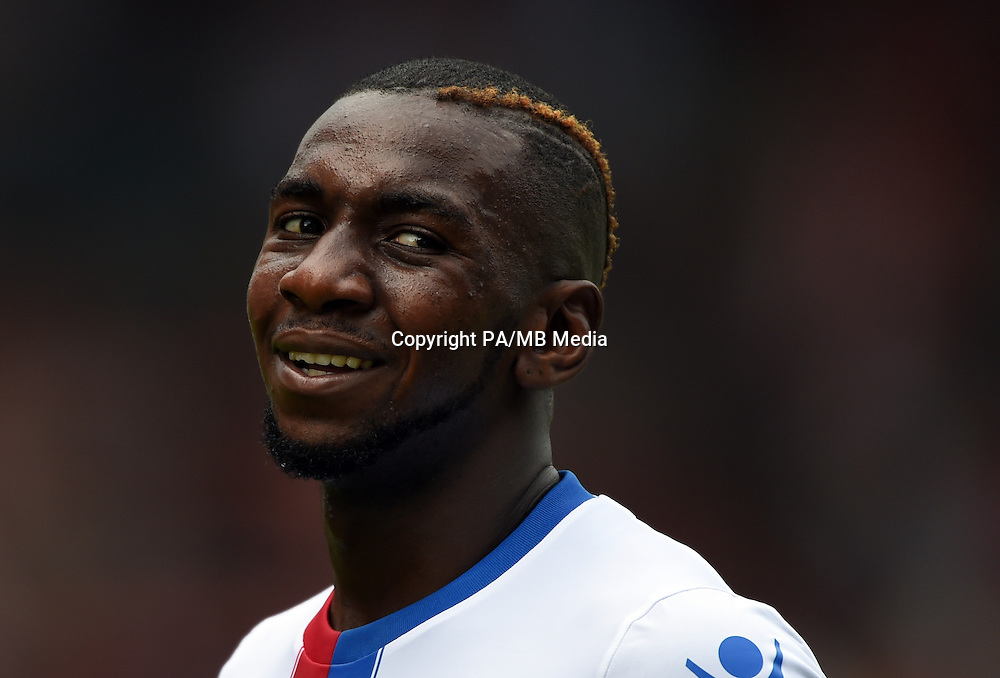Crystal Palace's Yala Yannick Bolasie reacts during the soccer test match 1st FC Union Berlin vs Crystal Palace F.C. in Berlin, Germany, 18 July 2015. Photo: Soeren Stache/dpa