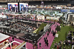 © Licensed to London News Pictures.  16/03/2012. LONDON, UK. General view of the Ideal Home Show exhibition in Earls Court, London. The show begins today and runs from the rest of March. Photo credit :  Cliff Hide/LNP