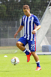 28.06.2015, Olympiapark Berlin, Berlin, GER, 1. FBL, Hertha BSC, Trainingsauftakt, im Bild Roy Beerens (#27, Hertha BSC Berlin) // during a traning session of German 1st Bundeliga Club Hertha BSC in Olympiapark Berlin in Berlin, Germany on 2015/06/28. EXPA Pictures © 2015, PhotoCredit: EXPA/ Eibner-Pressefoto/ Hundt<br /> <br /> *****ATTENTION - OUT of GER*****