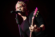 Photos of rock band Lifehouse performing at the Chaifetz Arena in support of Daughtry on April 6, 2010 in St. Louis.