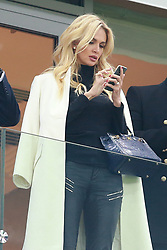 October 18, 2017 - Moscow, Russia - October 17, 2017. Russia, Moscow, Otkritie Arena Stadium. Victoria Lopyreva in the 2017/18 UEFA Champions League's group stage match between Spartak (Moscow, Russia) and Sevilla FC  (Credit Image: © Russian Look via ZUMA Wire)