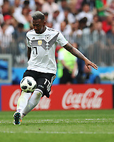 Football - 2018 FIFA World Cup - Group F: Germany vs. Mexico<br /> <br /> Jerome Boateng of Germany controls the ball at Luzhniki Stadium, Moscow.<br /> <br /> COLORSPORT/IAN MACNICOL