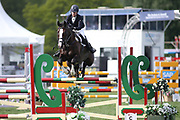 Fiona Kashel on Kilcannon Harley Cruise during the International Horse Trials at Chatsworth, Bakewell, United Kingdom on 13 May 2018. Picture by George Franks.