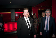 MICHAEL BALL, Party after the press night opening of 'Sweeney Todd: The Demon Barber of Fleet Street' at Adelphi Theatre, London. Floridita. Wardour St. 20 March 2012.