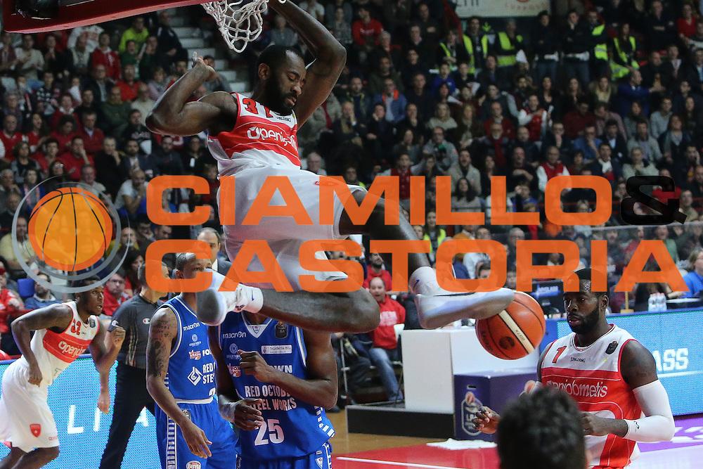 pallacanestro campionato 2016 2017<br /> Pala2a <br /> Varese Openjobmetis vs Cantù red october : 003 ERIC MAYNOR