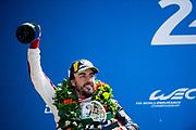 Fernando Alonso<br /> TOYOTA GAZOO  Racing. <br /> Le Mans 24 Hours Race, 11th to 17th June 2018<br /> Circuit de la Sarthe, Le Mans, France.