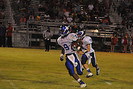 Water Valley's Elijah Rogers (9) vs. Independence in high school football action in Independence, Miss. on Friday, August 19, 2011. Water Valley won 42-0.