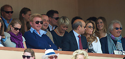 MONTE-CARLO, MONACO - Saturday, April 17, 2010: Boris Becker during the Men's Singles Semi-Final on day six of the ATP Masters Series Monte-Carlo at the Monte-Carlo Country Club. (Photo by David Rawcliffe/Propaganda)