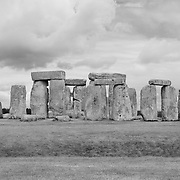 Stonehenge - Salisbury Plain, UK - Black & White