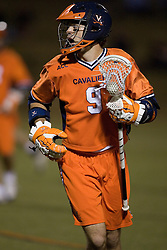 Virginia Cavaliers A/M Danny Glading (9)<br /> <br /> The Virginia Cavaliers Men's Lacrosse Team defeated Mount St. Mary's 23-6 at Kl?ckner Stadium in Charlottesville, VA on March 13, 2007.