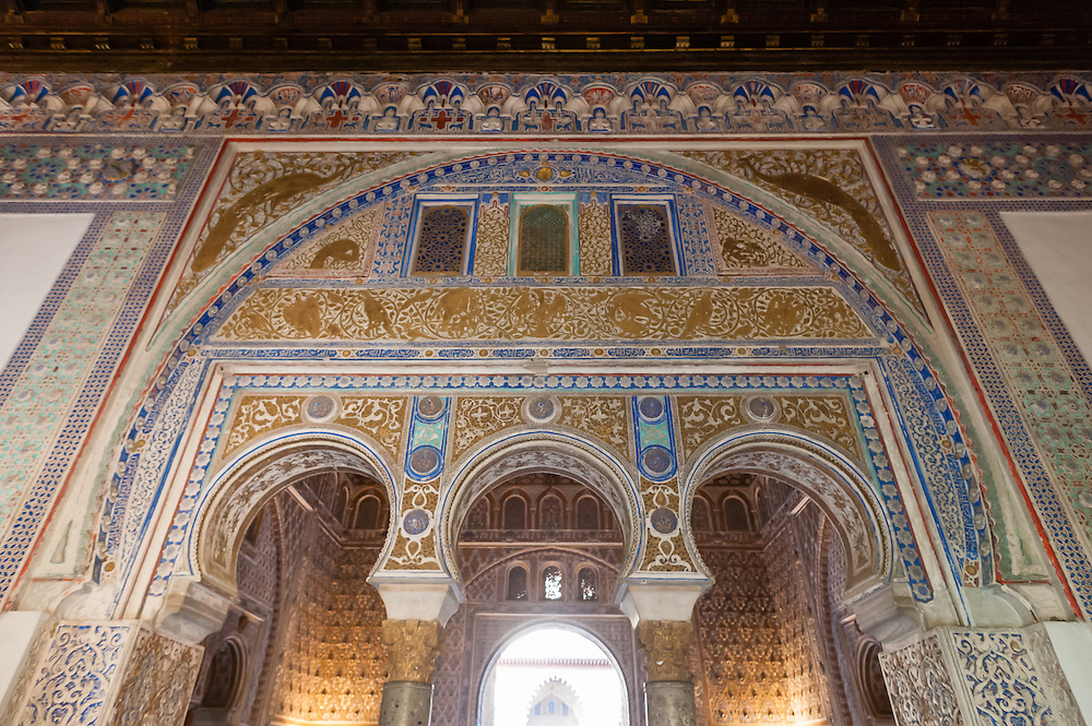 Alcazar palace in Sevilla (Spain)