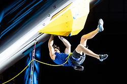 09.09.2018, Kletterzentrum, Innsbruck, AUT, IFSC, Kletter WM Innsbruck 2018, Halbfinale, Herren, Vorstieg, im Bild Thomas Joannes (FRA) // Thomas Joannes of France during Semi-Finals of Men Lead for the IFSC Climbing World Championships 2018 at the Kletterzentrum in Innsbruck, Austria on 2018/09/09. EXPA Pictures © 2018, PhotoCredit: EXPA/ Johann Groder