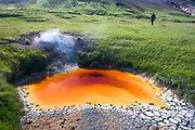 Þeistareykir is a geothermal area connected to an active central volcano.