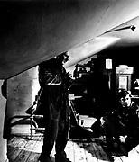 Donald Pleasance and Alan Bates, 1963