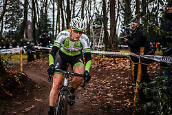 Monique van de Ree, NK Veldrijden Elite-Vrouwen en Amateur-Vrouwen / Dutch Championship Cyclocross Elite Women and Amateur Women at Sint Michielsgestel, Noord-Brabant, The Netherlands, 8 January 2017. Photo by Pim Nijland / PelotonPhotos.com | All photos usage must carry mandatory copyright credit (Peloton Photos | Pim Nijland)