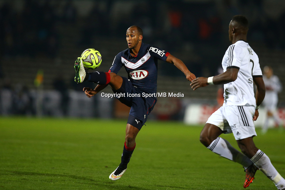 Thomas Toure - 06.12.2014 - Bordeaux / Lorient - 17eme journee de Ligue 1 -<br />