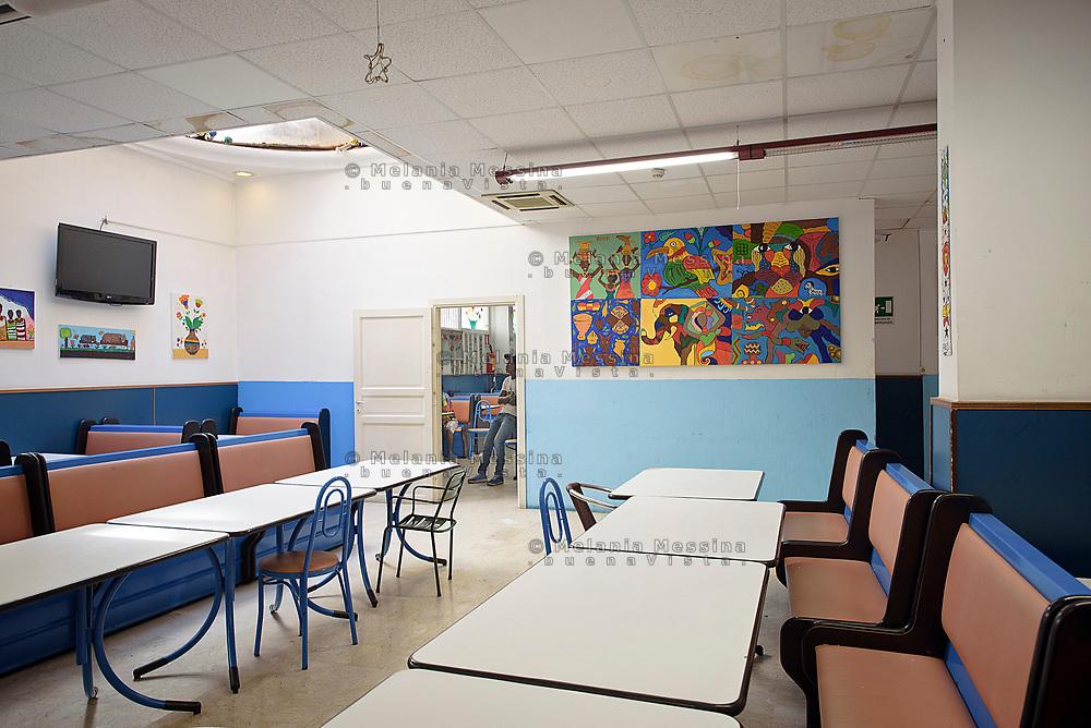 Palermo, centro d'accoglienza per minori non accompagnati Asante, area ricreativa.<br /> Palermo: community house  for unaccompanied foreign minors,  Asante non profit association