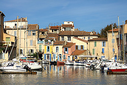 The Le Miroir aux oiseaux (Mirror Bird) area of Martigues is a niche of water that's attracted artists for generations.  Martigues is a picturesque fishing port in the Bouches-du-Rhône department in the Provence-Alpes-Côte d'Azur region, France.