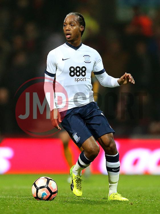 Daniel Johnson of Preston North End - Mandatory by-line: Matt McNulty/JMP - 07/01/2017 - FOOTBALL - Deepdale - Preston, England - Preston North End v Arsenal - Emirates FA Cup third round