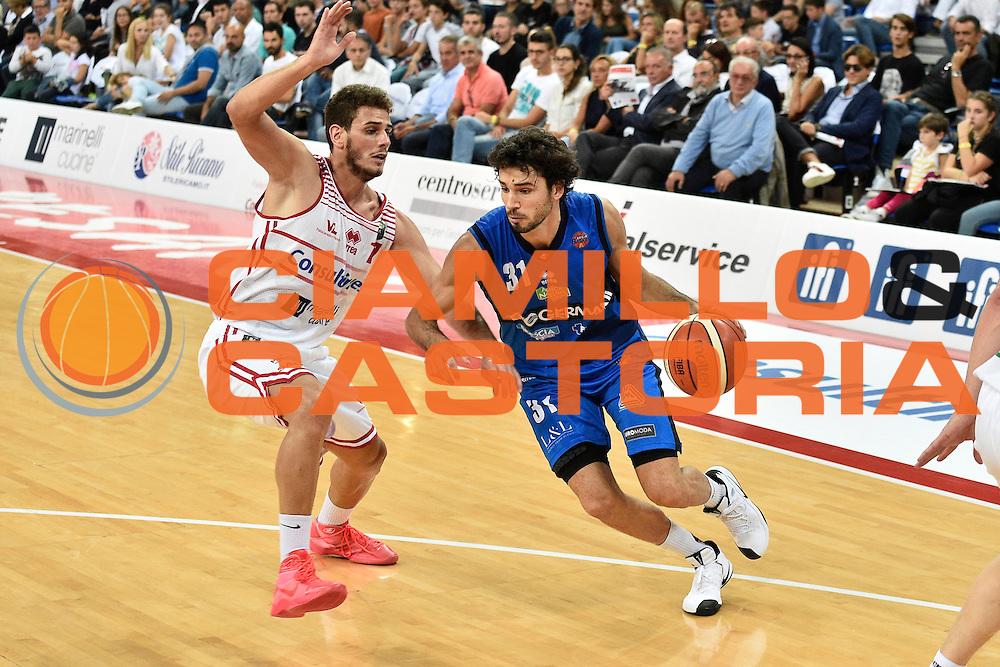 Vitali Michele<br /> Consultinvest Pesaro - Germani Basket Brescia<br /> BASKET Serie A 2016 <br /> Pesaro 02/10/2016 <br /> FOTO CIAMILLO