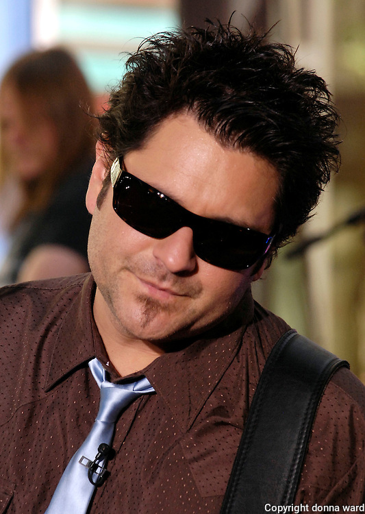 Jay DeMarcus of The Rascal Flatts performs on NBC's 'Today' Show Concert Series at Rockefeller Center in New York City, USA on July 11, 2008.