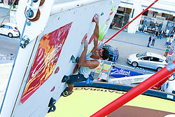 31.07.2015, Mariahilfer Straße, Wien, AUT, ISFC, Free Solo Masters MAHÜ, Vorqualifikation, im Bild Milad Ziaeimehr // during the prequalification of the ISFC Free Solo Masters MAHÜ at the Mariahilfer Straße in Vienna, Austria on 2015/07/31. EXPA Pictures © 2015, PhotoCredit: EXPA/ Sebastian Pucher