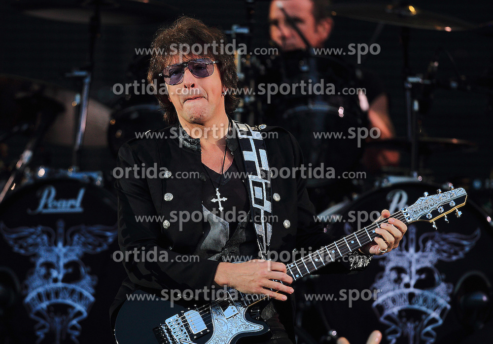 08.06.2011., Zagreb, Croatia - Bon Jovi preformed on Maksimir stadium in Zagreb, Croatia. It is the first concert on their European tour in which they plan to visit 24 countries. Guitarist Richie Sambora joind the band on tour after he spent six months on rehabilitation, fighitng his alcoholism addiction. In a recent interview he stated that Croatia is a bizarre country..                                                                                                    Foto ©  nph / PIXSELL       ****** out of GER / SWE / CRO  / BEL ******