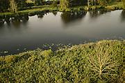 Peene river and flooded lands near Anklamer Stadtbruch