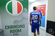 DESCRIZIONE: Berlino EuroBasket 2015 - Allenamento<br /> GIOCATORE:Andrea Cinciarini<br /> CATEGORIA: Allenamento<br /> SQUADRA: Italia Italy<br /> EVENTO:  EuroBasket 2015 <br /> GARA: Berlino EuroBasket 2015 - Allenamento<br /> DATA: 04-09-2015<br /> SPORT: Pallacanestro<br /> AUTORE: Agenzia Ciamillo-Castoria/M.Longo<br /> GALLERIA: FIP Nazionali 2015<br /> FOTONOTIZIA: Berlino EuroBasket 2015 - Allenamento
